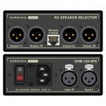 CARDINAL DVM Speaker-Selector inkl. Fernbedienung, Professional, B x H x T: 120 mm x 51 mm x 260 mm