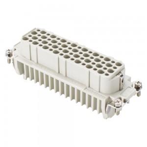 Ilme CHV24.29 Rechteck-MP 24 Tüllengehäuse 4 Bolzen Multipin Mehrkanal Stecker