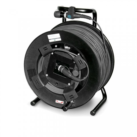Neutrik Digital Fiber Distribution System , OpticalCon Quad (4-fibre); NEUTRIK; on SCHILL cable reel HT381