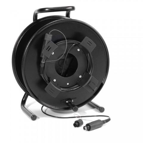 Sommer cable Digital LWL-Verteilsystem , Fiber Lens Quad; FiberLENS; auf Kabeltrommel SCHILL GT-Serie