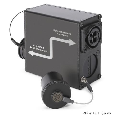 Sommer cable  Adapter   OpticalCon QUAD female/SC female gerade, anthrazit