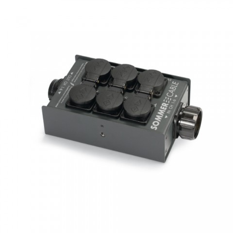 Sommer cable Power Distribution Systems , Schuko panel socket/HI-SOCA 19-MP IN/HI-SOCA 19-FP LINK; MENNEKES/ILME