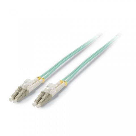 Fiber patch cable 50/125 µm | LC duplex / LC duplex | Multimode