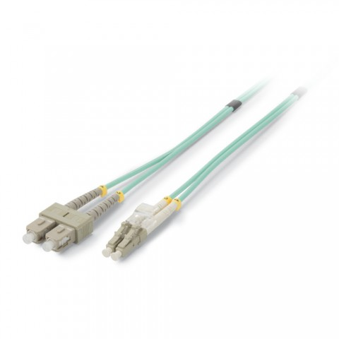 Fiber patch cable 50/125 µm | 2 x LC / SC-Duplex | Multimode