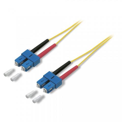 Fiber patch cable 9/125 µm | SC-Duplex / SC-Duplex | Singlemode