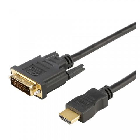 Multimediakabel HDMI-Adapterkabel, 19 x 0,08 mm² | HDMI® / DVI