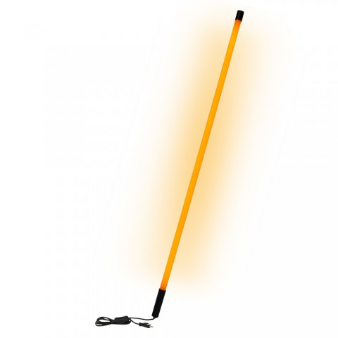 HICON LIGHTSTICK for Edelstahl-Displays for reorder, height: 1650 mm, orange