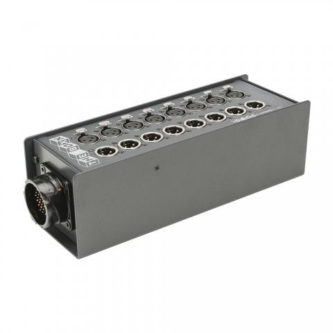 THE BOXX compact -> Round-LK-connector ; depth: 92 mm; seperate grounding