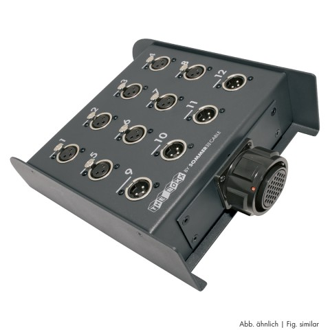 THE BOXX -> Round-LK-connector ; depth: 211 mm; seperate grounding