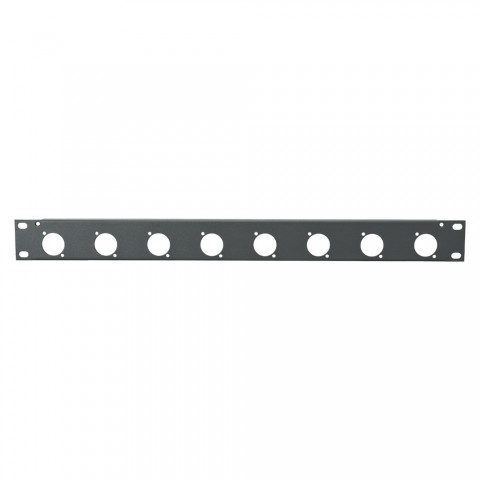 Sommer cable Rack Panel, Universal D-Serie, 1 HE, 1 HE, Stahlblech, vz. 1.5mm, anthrazit