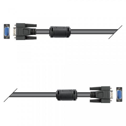 Monitorkabel VGA, 15    HD-SUB-D / HD-SUB-D