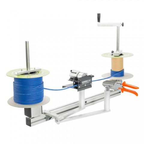 Sommer cable Abwickler Tischgerät, zum Wickeln von Spule zu Spule