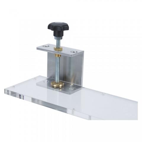 Sommer cable Tischhalter, für Plattenstärken bis 40 mm für MISTER-GUIDE, Breite: 150 mm, Höhe: 210 mm