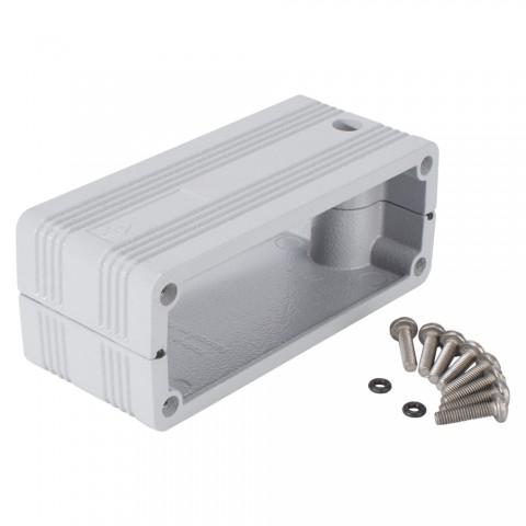 ILME  Adapter | 2 Halbschalen für 2 x CHI16 Multipin gerade, weiß
