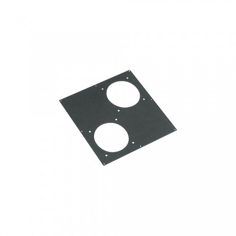 Sommer cable Adapter panel, 2 x LK85 / 150-cutouts for BB-Series, anthracite RAL7016