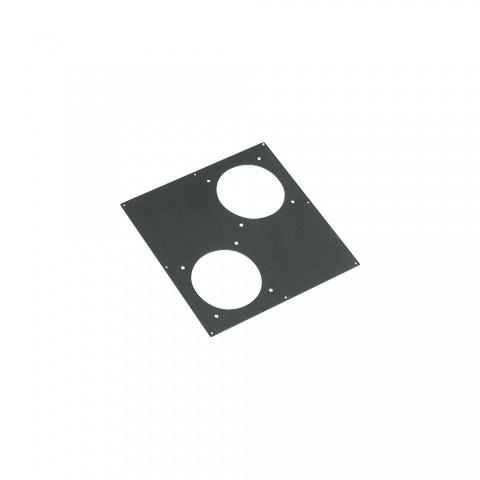 Sommer cable Adapterblech, 2 x LK85 / 150-Ausschnitt für BB-Series, anthrazit RAL7016