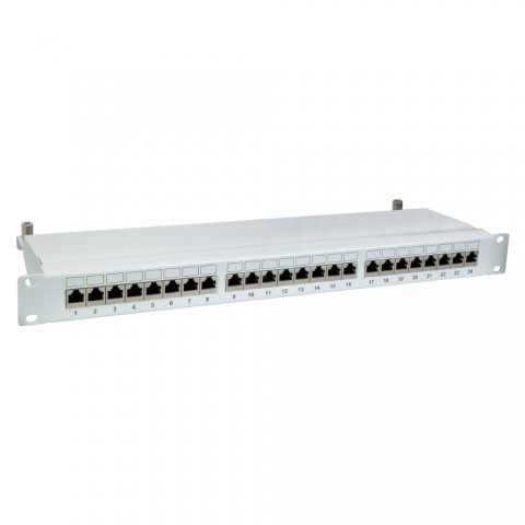 """19"""" PATCHPANEL, CAT.6, 250 MHz, 1 HE"""