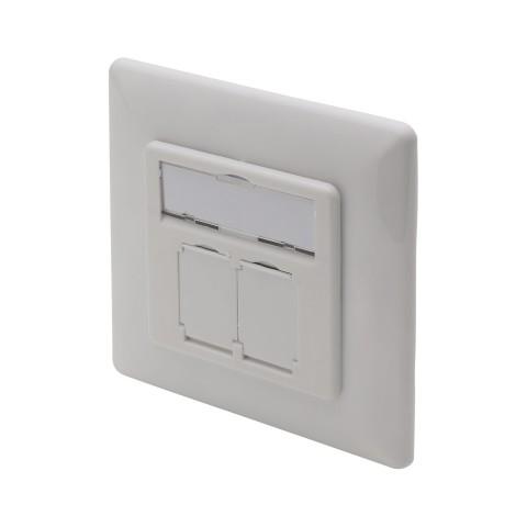 Flush-mount socket, Flush-mount socket, white