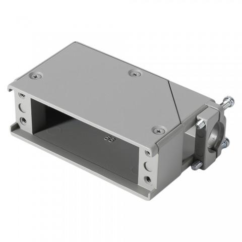 EDAC Kabelgehäuse, Kabelgehäuse f. 56-pol Kontaktträger für EDAC-Steckverbindern, grau