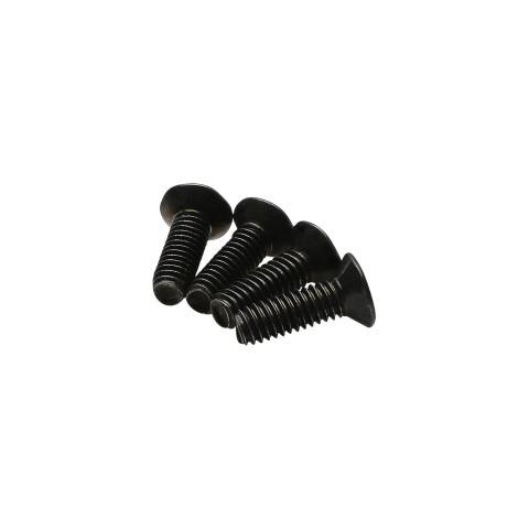Schraube M2,5 x 8 Senkschraube gewindefurchend, Torx 8 für SYFB-Frontblechmontage, Farbe: schwarz | S-G2,5X08S-TS