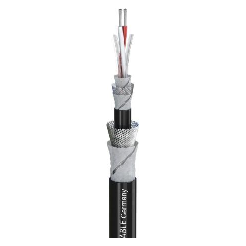 Mikrofonkabel SC-AQUA MARINEX MIKRO 25; 2 x 0,25 mm²; PUR-SR Ø 7,20 mm; schwarz