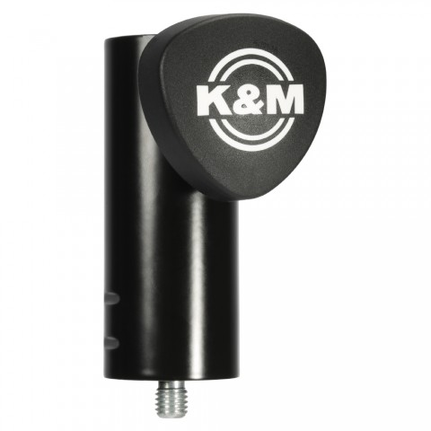König & Meyer High stand adapter, PU: 1, length: 100 mm, black, Adjustable using clamping screw