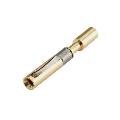 HICON Crimp Contact socket, crimp-, gold plated contact(s), max. 4 mm², for HI-LK008