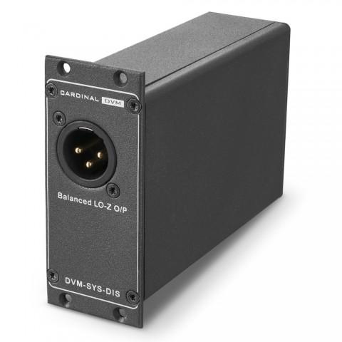 CARDINAL DVM Single-DI-Box, Professional, B x H x T: 68 mm x 36 mm x 105 mm