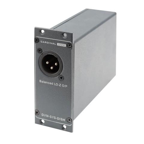 Single-DI-Box, Professional, B x H x T: 68 mm x 36 mm