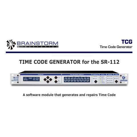 Brainstorm Electronics Time-Code-Generator