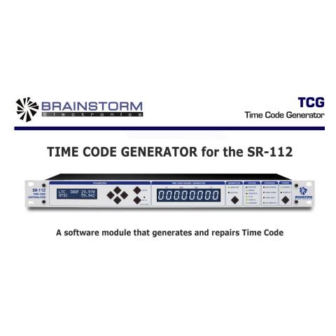 Brainstorm Electronics Time-Code-Generator