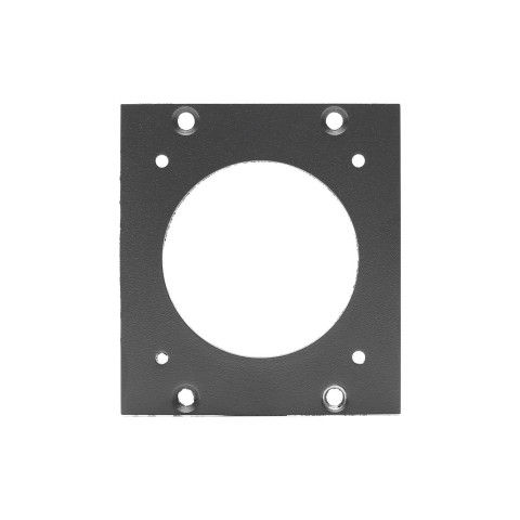 SYSBOXX Side panel blank panel, 2 HE for SYSBOXX, galvanized sheet steel 2mm, colour: anthracite, RAL 7016, smooth matt