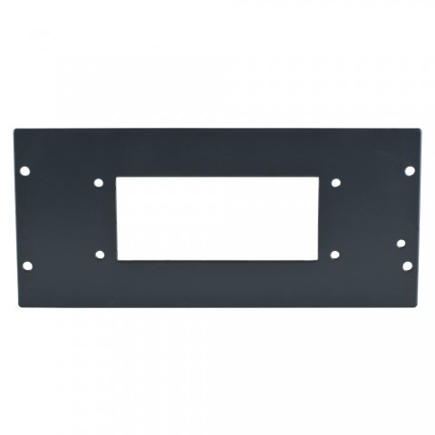 SYSBOXX Side panel blank panel, 4 HE for SYSBOXX, galvanized sheet steel 2mm, colour: anthracite, RAL 7016, smooth matt