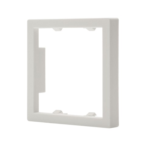 Adapter framework Adapter frame for 55 mm switch frame, scale: 55x55 mm, plastic, colour: pure white