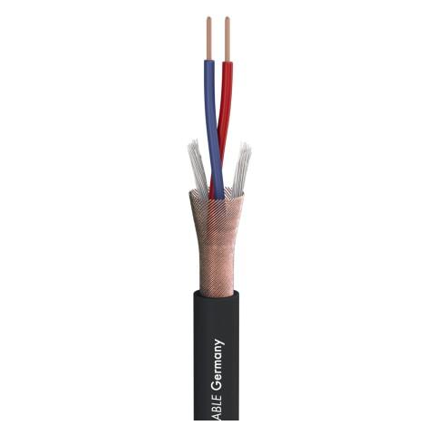 Mikrofonkabel Stage 22 Highflex; 2 x 0,22 mm²; PVC Ø 6,40 mm; schwarz