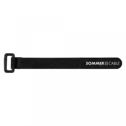 Sommer cable Klettband, VPE: 10 Stck., Länge: 300 mm, Breite: 15 mm, mit trittfester PA-Kunststofföse
