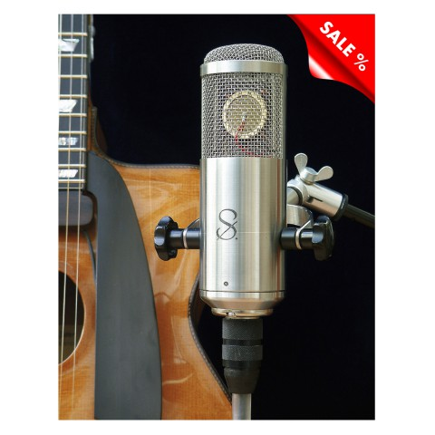 Tube microphone, length: 260 mm, width: 60 mm, height: 130 mm