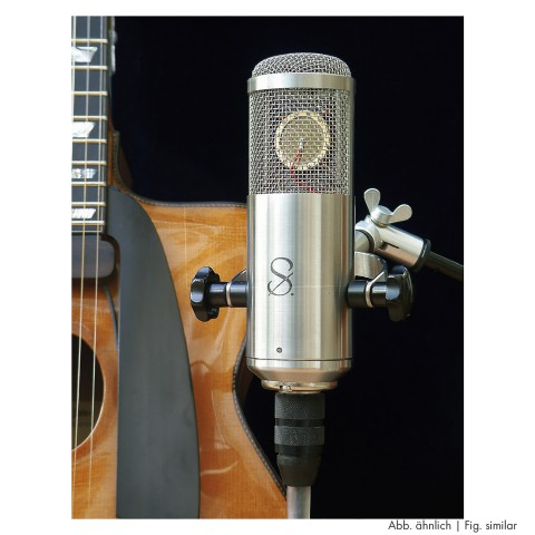 Tube microphone, length: 197 mm, width: 60 mm, height: 130 mm
