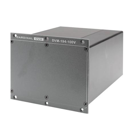 CARDINAL DVM DVM-19/4 2CH 100 V Übertrager, 2 HE