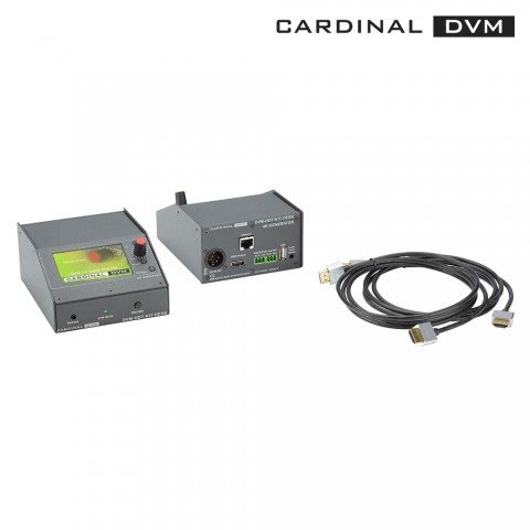 CARDINAL DVM HDMI ®  2.0 toolkit, mobile version incl. battery pack