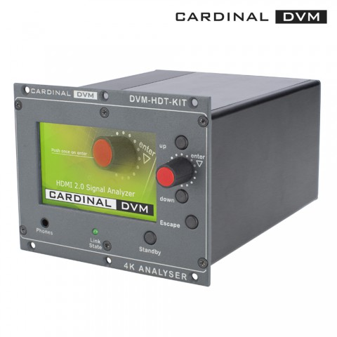 CARDINAL DVM HDMI ®  2.0 toolkit, rack version