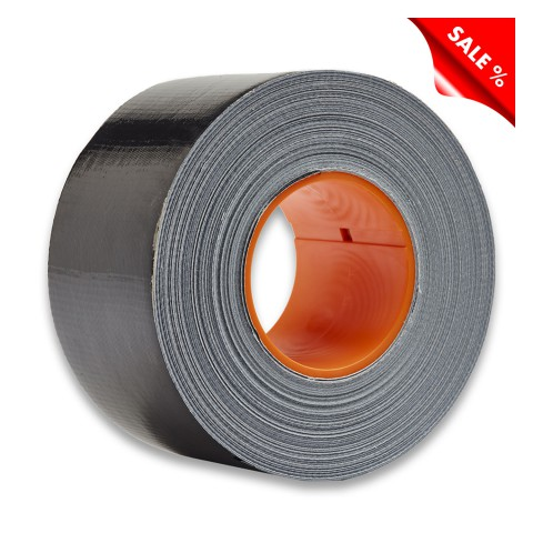 DUCT Tape 48 mm x 50 m, black ( incl. CoreLok for best laying results ), Packing 24 pcs