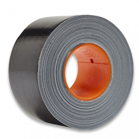 DUCT Tape 72 mm x 50 m, schwarz ( inkl. CoreLok-Kern für perfekte Verlegung ), VPE 16 Stk.