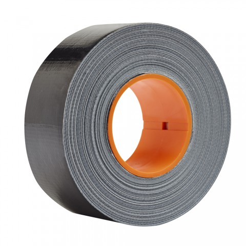 DUCT Tape 48 mm x 50 m, black ( incl. CoreLok for best laying results )