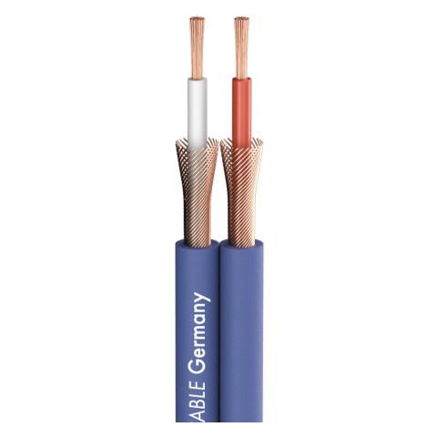 Patch- & Instrumentenkabel SC-Onyx 2025 MKII; 2 x 1 x 0,25 mm²; PVC; 8,3 x 3,8 mm; blau