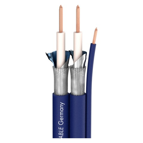 Instrumentenkabel SC-Sinus Control; 1 x 2 x 0,35 mm²; 1 x  Control; PVC; 15 x 6,2 mm; blau