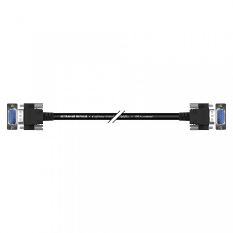 Monitor cable QXGA | SUBD15HD male / SUBD15HD male, HICON