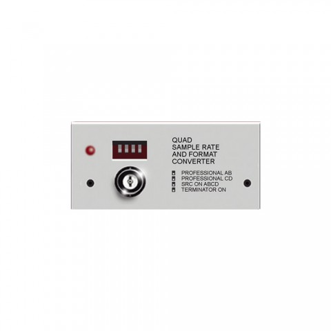 Friend-Chip Quad data format and sampling rate converter, IN: 4 | OUT: 4
