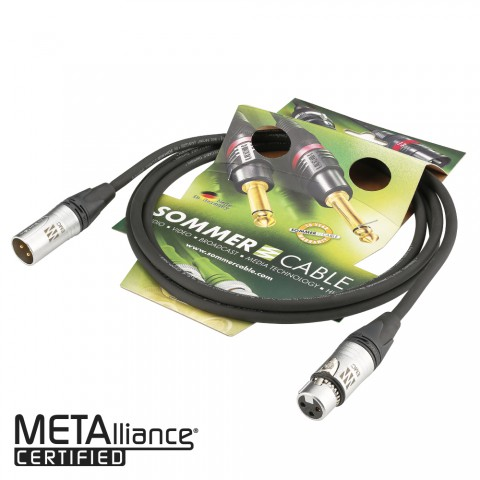 Mikrofonkabel Referenz EMC-QUAD, 4 x 0,14 mm² | XLR / XLR, Neutrik