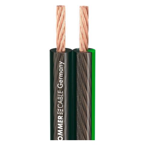 Lautsprecherkabel SC-Orbit 240 MKII, HighEnd; 1 x 2 x 4,00 mm²; PVC; 12 x 5,9 mm; schwarz transparent